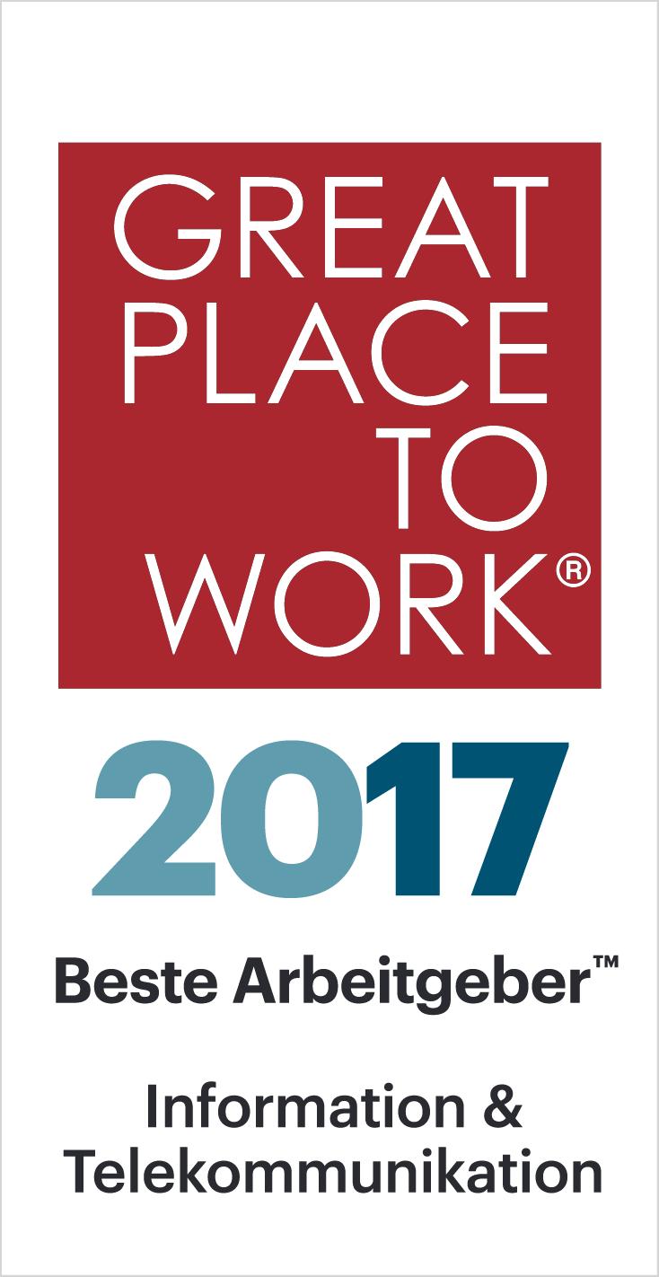 great place to work auszeichnung 2017