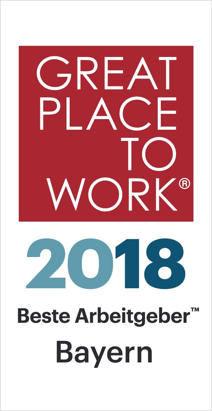 Beste Arbeitgeber Bayern 2018