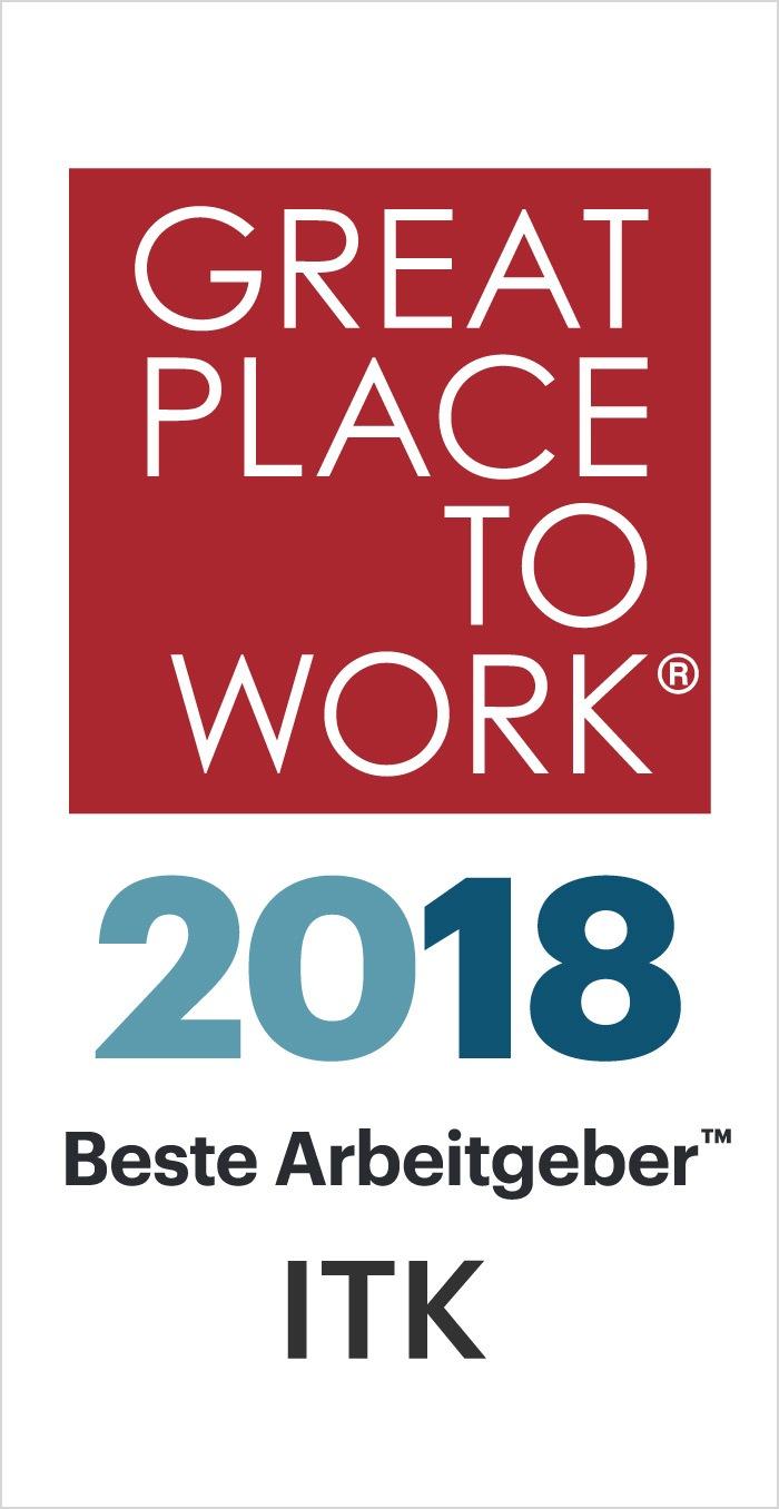 Beste Arbeitgeber ITK 2018