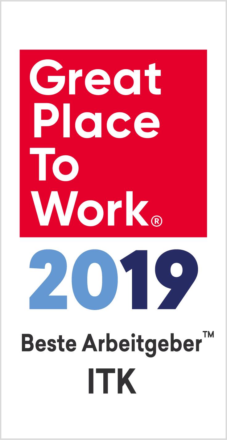 Beste Arbeitgeber ITK 2019